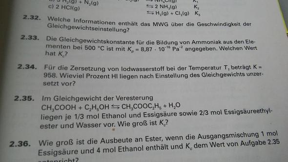 Aufgaabe - (Mathe, Chemie)