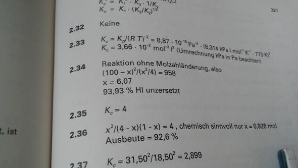 Lösung - (Mathe, Chemie)