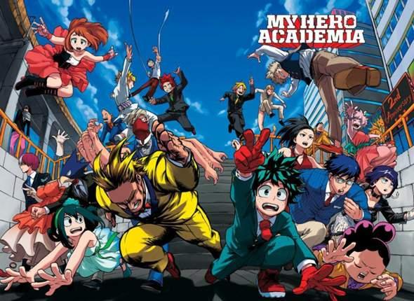 My Hero Academia Charaktere?
