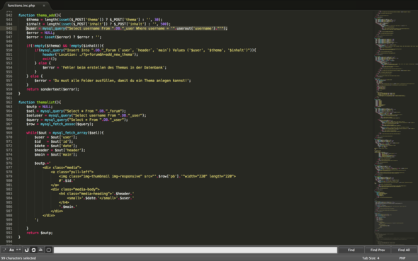 $user falsch?! - (programmieren, html, PHP)