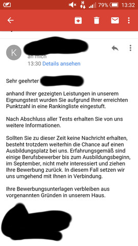Nach Auswahlverfahren Bei Der Telekom Nun Diese Emailwas