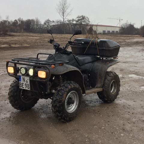 Quad Linhai ATV  - (KFZ, Quad, Anlasser)