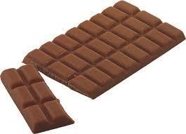 Schokolade Schimmel