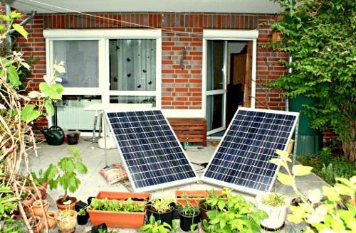 Solarmodule ohne Dekor - (Technik, Wohnung, Ideen)