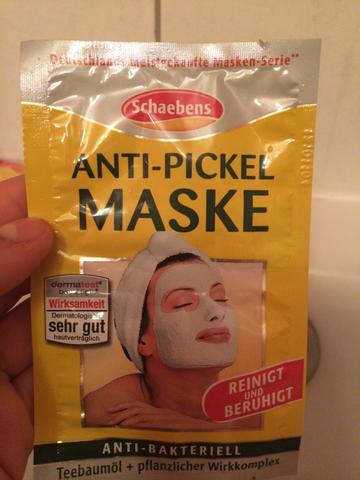 Annti-Pickel Maske - (Maske, Balea, Schaebens)
