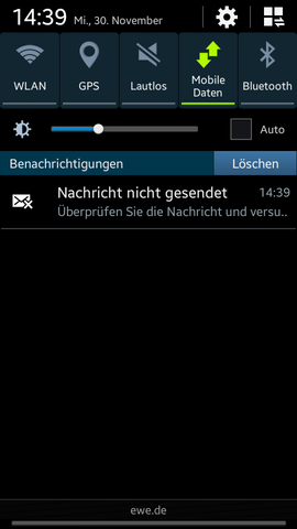 Screenshot - (Handy, SMS)