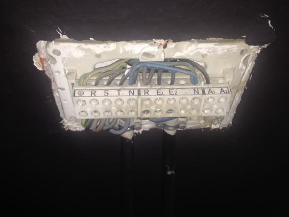 Nachtspeicherheizung - Anschlussbelegung (Elektriker, starkstrom ...