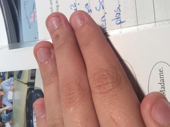 Meine eine Hand - (Nägel, Maniküre, verschönern)