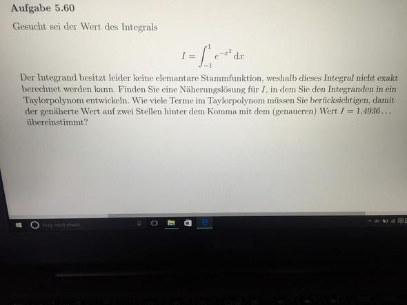Bild - (Mathematik, Taylorreihen Integralrechnung)