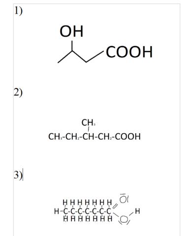 Namen Der Folgenden Chemischen Verbindungen Schule Chemie