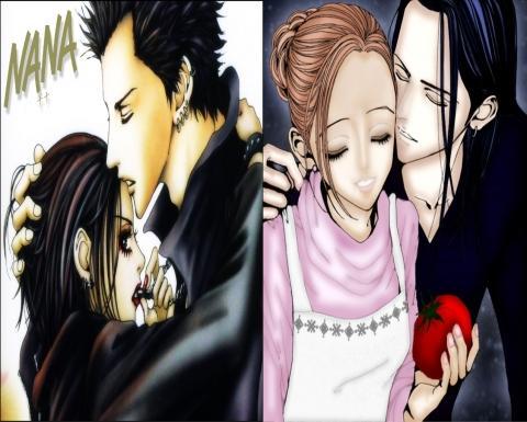 Meine Lieblings Paare :D <3 - (Anime, nana)