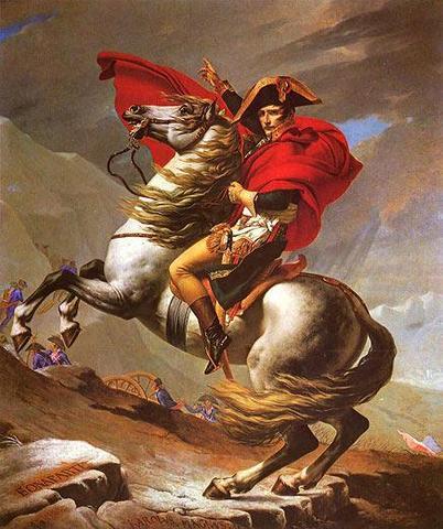 Napoleon Bonaparte auf Pferd - (Beruf, Deutung, Bildanalyse)