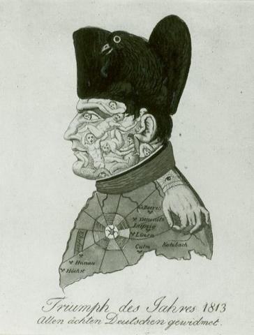 Bilduntertitel eingeben... - (Geschichte, Karikatur, Napoleon)
