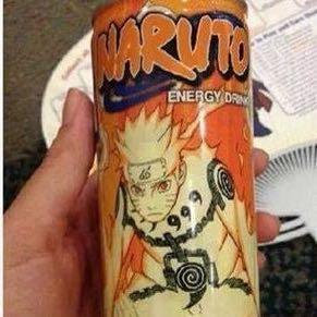 Dose.  - (Naruto, Energy Drink, Shippuuden)