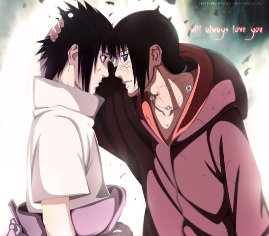 Itachi und Sasuke - (Anime, Manga, Naruto)