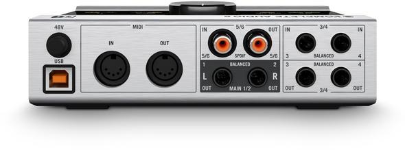 Interface von Hinten - (Fernseher, Audio, digital)
