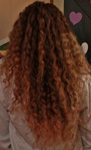 meine locken...  - (Haare, Beauty, Haarfarbe)