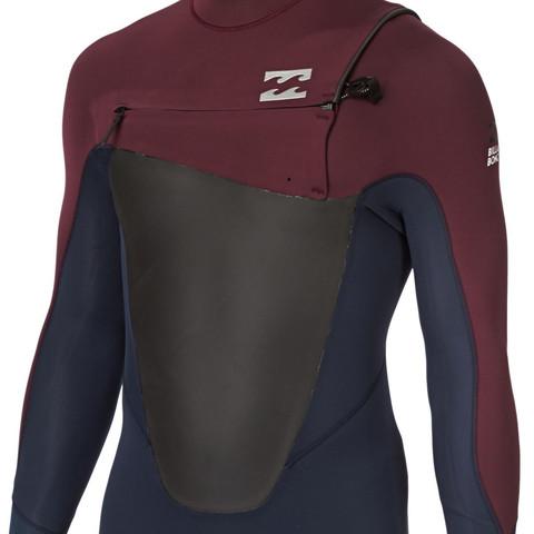 Brustreißverschluss - (Sport, Kleidung, tauchen)