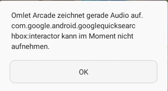 Nervige Meldung sobald mein Handy sein Mikrofon aktiviert/Stimmen oder Audio aufnimmt?