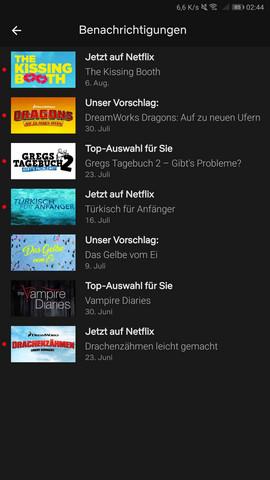 Netflix Die Liste Vom Bild Deaktivieren Serie Löschen