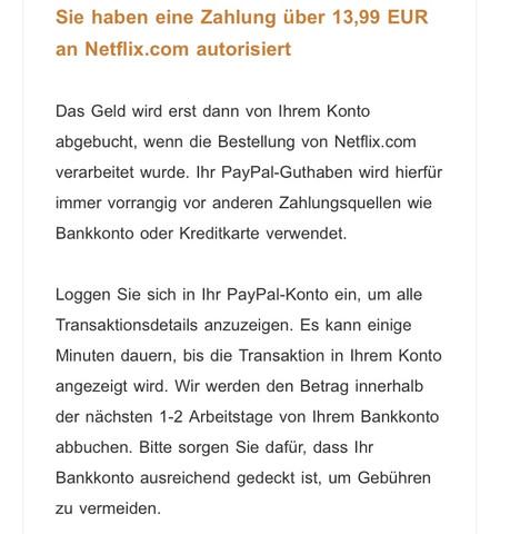 Paypal Kostenpflichtig