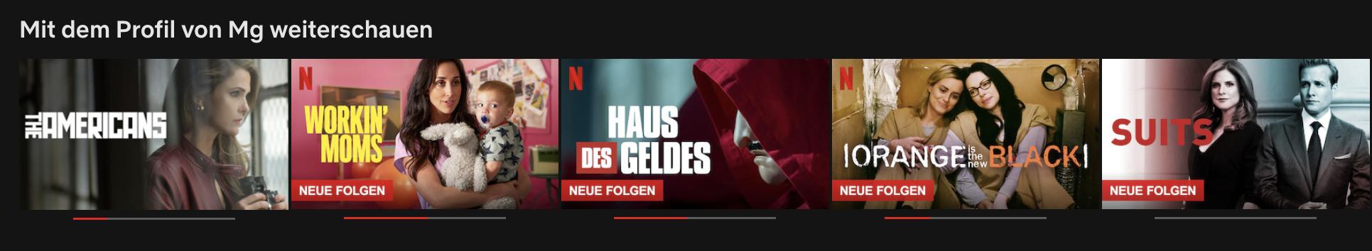 Serien Netflix Liste