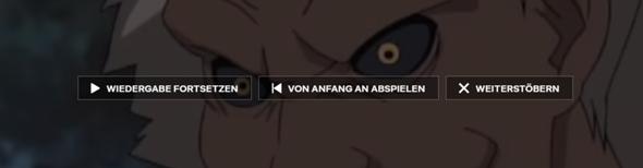 Netflix Wiedergabe Fortsetzen