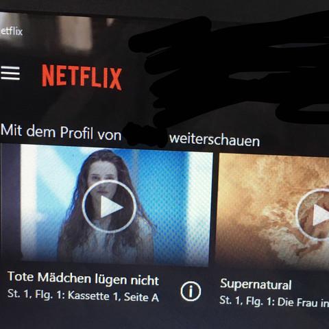 Netflix Verlauf Serie Suchverlauf