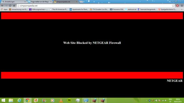 Netgear Firewall - (Internet, google-chrome, Internet Explorer)