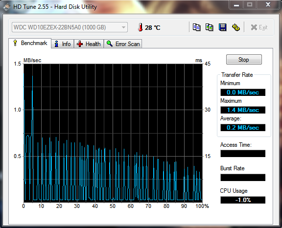 HDTune - (PC, Festplatte, neu)