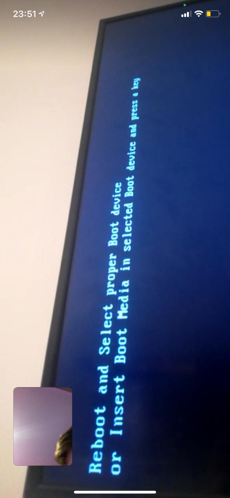 Windows Bootet Nicht