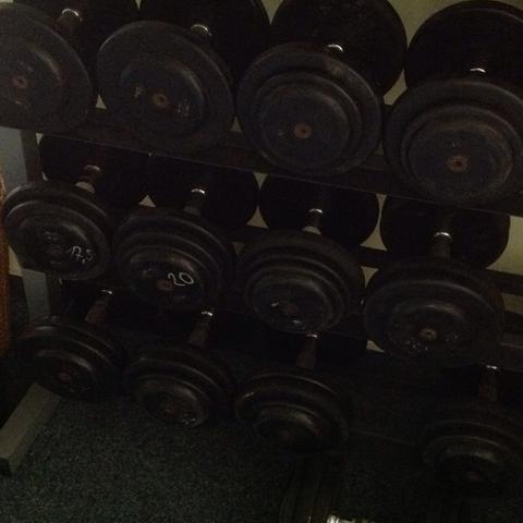 Gym 80 Hanteln  - (Haushalt, Geruch)