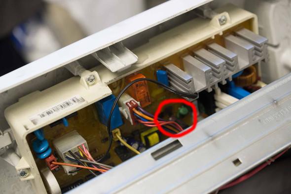 Gesamte Platine - (Samsung, Elektronik, Waschmaschine)