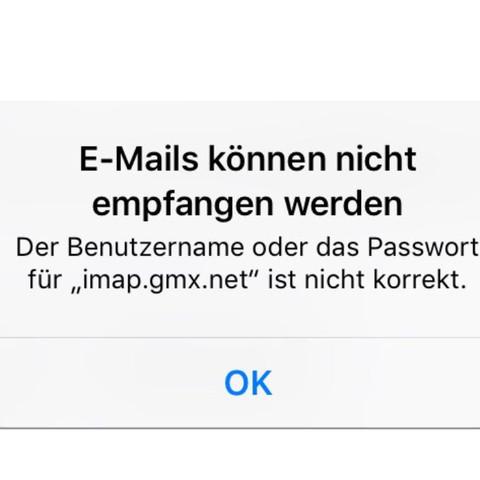 Fehler  - (Handy, Technik, iPhone)