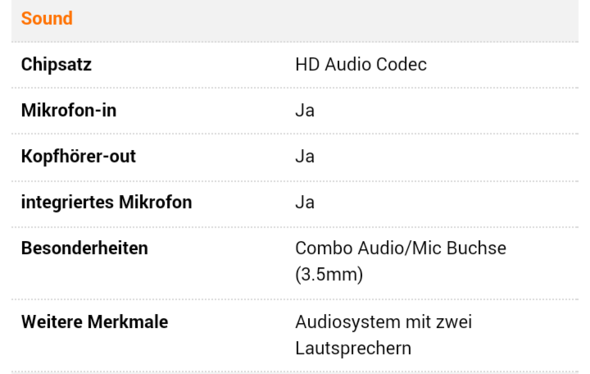 Die Herstellerseite - (Notebook, Headset, Sound)