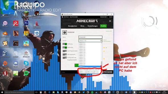 Neuer Minecraft Launcher Findet ForgeVersion Nicht PC Spiele Games - Minecraft fruhere version spielen