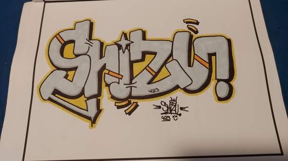 Neues Graffiti am Start, eure Meinung?