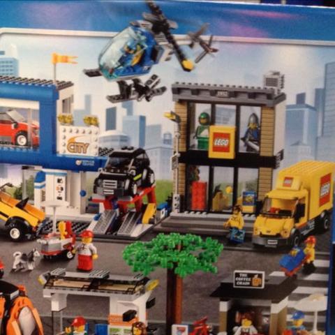 Mit lego Store Trambahn Autohaus/Werkstatt u.s.w - (Lego, City)