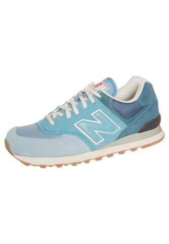 New Balance - ML574 - Blauer Turnschuh aus Wildleder  - (Internet, Schuhe, Größe)