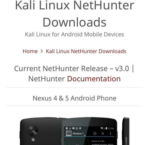 Nexus Kali linux?