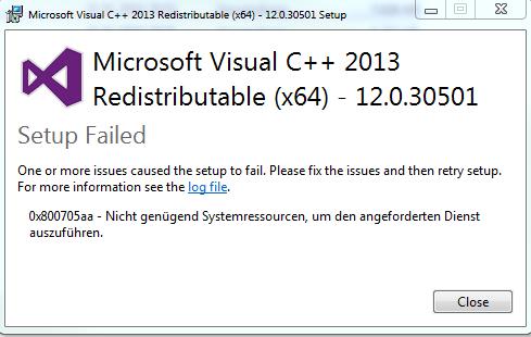 fehler - (Microsoft, Fehlermeldung)