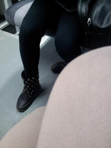 Nieten Stiefel - (Schuhe, Stiefel, nieten)