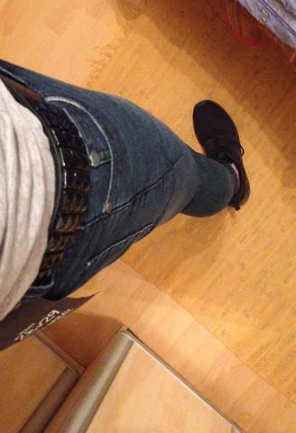Bild 3 - (nietenguertel, Skinny Jeans Nietengürtel)