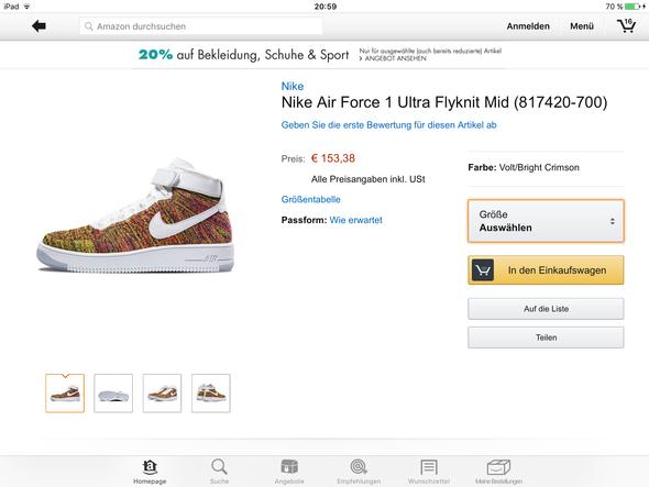 Nike Air Force 1 Ultra Flyknit Multicolor - (Schuhe, Nike, Shopping)