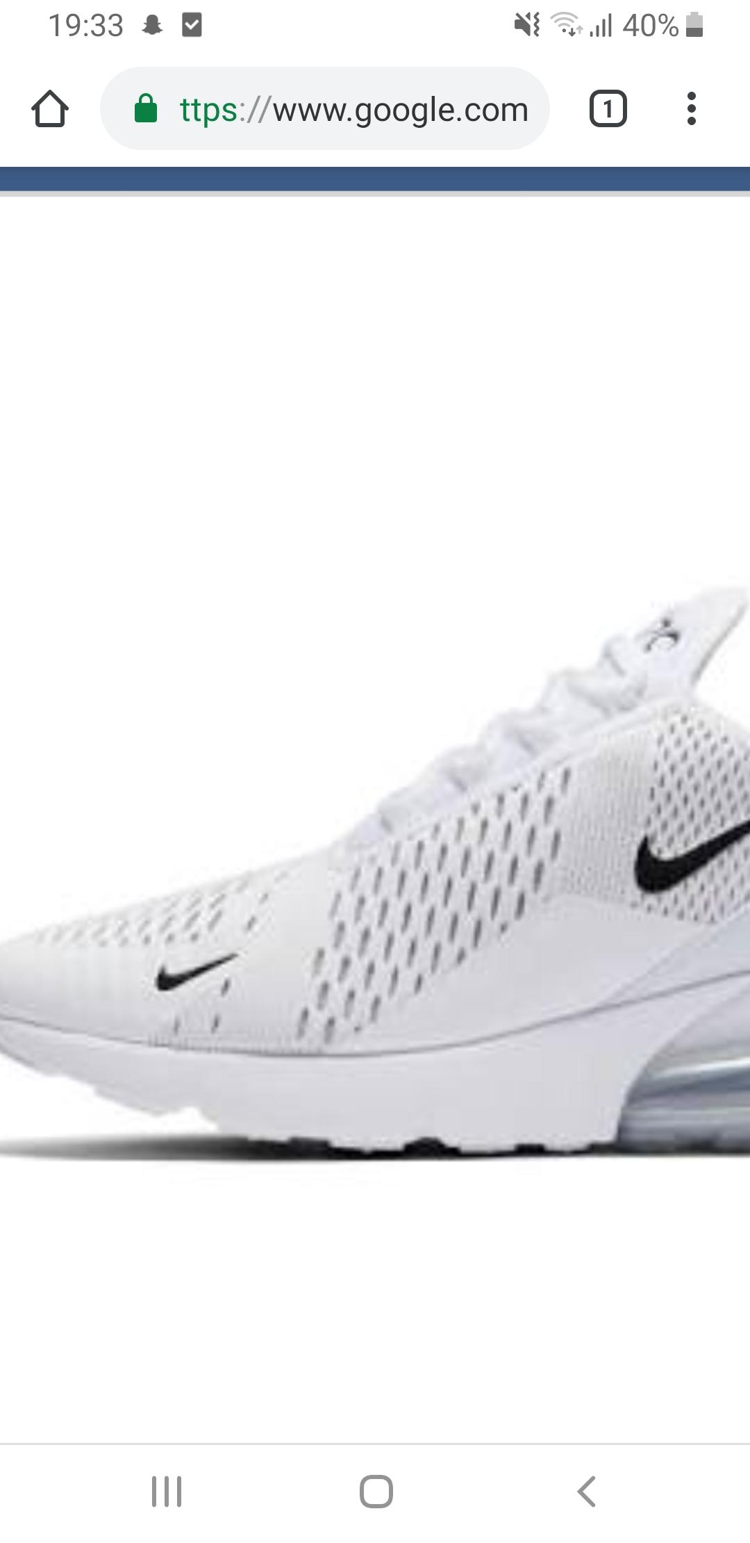 BekommenschuleHaushaltPutzen Air 270 Nike Sauber Weiß f7by6g