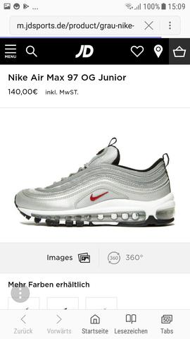 Sonderverkäufe Neues Produkt 60% Freigabe Nike air 97 bei mädchen? (Schuhe, Abstimmung)