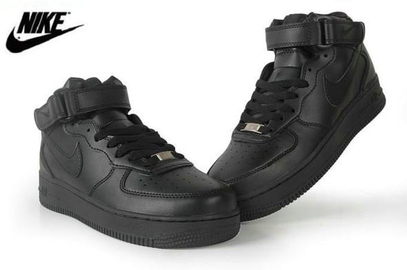 Nike Air Force 1 mid black im Sommer?