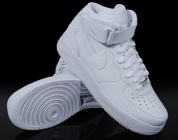 nike air force 1 mid youth gs schuhe weiß