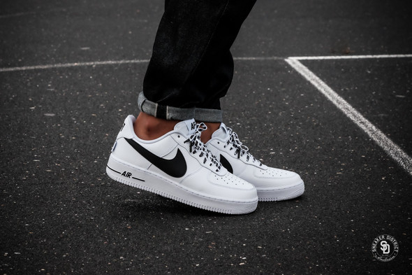 Nike Air Force 1 Black White NBA