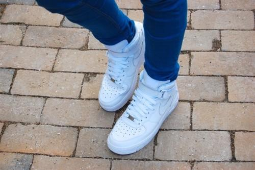 Air Force Schuhe Weiß